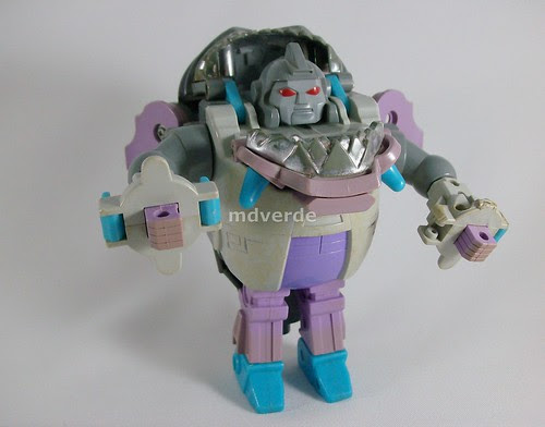 Transformers Gnaw (Sharkticon) G1 - modo robot (by mdverde)