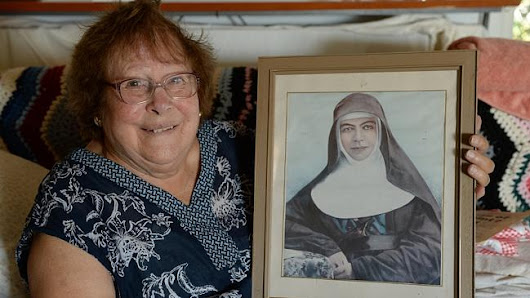 Dromana's weeping mystery returns as St Mary MacKillop picture produces oil droplets
