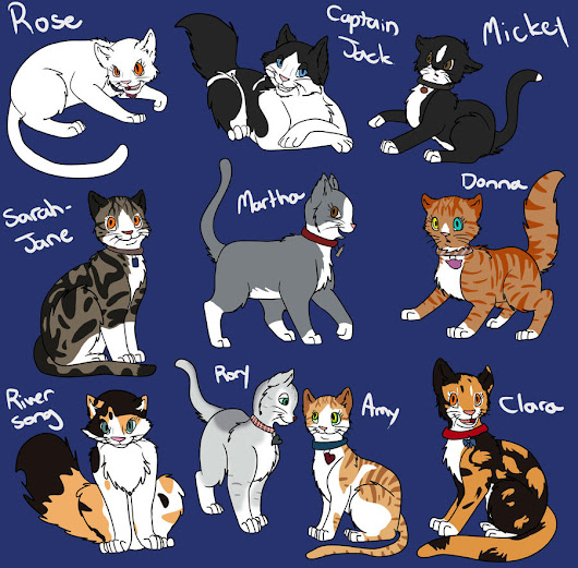 "Dr Who ""Kitty"" companions"