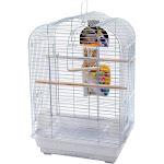 Penn Plax Cockatiel Scalloped Top Bird Cage Kit