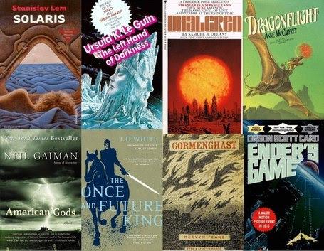 50 Sci-Fi/Fantasy Novels That Everyone Should Read | Digital Arts Education | Scoop.it