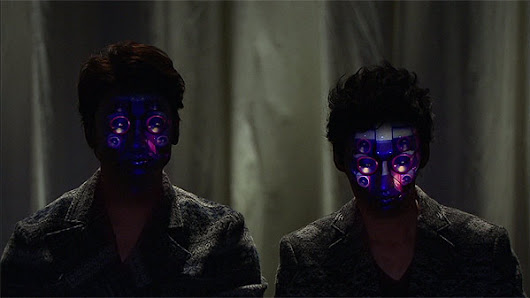 "Future Technology: ""Face-Hacking"" Real-Time Face Tracking and 3D Projection Mapping"