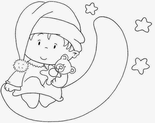 Bebek Boyama Sayfasi 25 Okul öncesi Etkinlik Faliyetleri