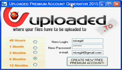Uploaded Premium Account Free Generator Tool