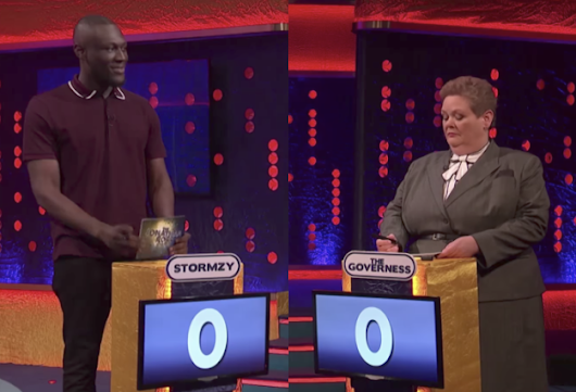 Stormzy takes on The Governess in Jonathon Ross' version of The Chase