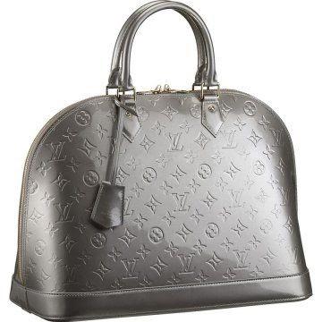 55 alma mm m91609 louis vuitton handbags for Louis vuitton silver alma miroir
