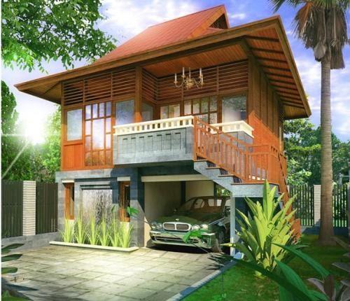 Design Rumah Panggung Modern Contoh O