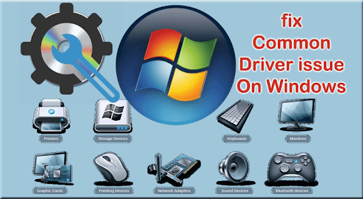 fix Common Driver issue On Windows | Tech Prompts