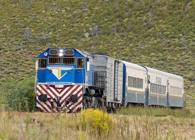 Tlam Bariloche.15_12_04 El tren Patagonico de viene de Viedma a Bariloche , duplico la venta de pasajes respecto del año pasado. Foto: Alejandra Bartoliche_Tlam                             tren trenes patagonico ferrocarriles