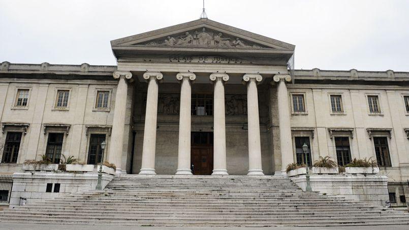 Le palais de justice de Marseille.
