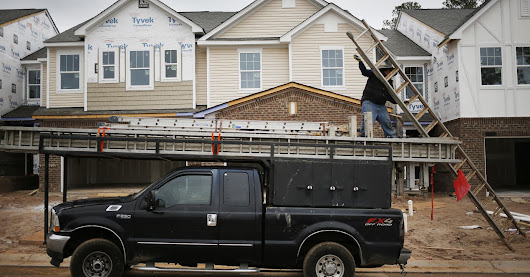 Home builder sentiment falls 2 points in February as Trump euphoria abates