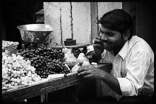 The Bhaiyya Fruitwalas Of Bandra by firoze shakir photographerno1