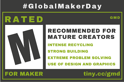 Building Makers with #GlobalMakerDay https://hubs.ly/H08R49Y0