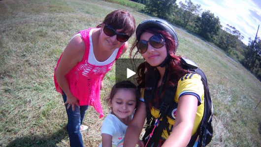 Paragliding 9/5/15 With Pennsylvania Paragliding
