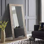 Mosaic Style Full Length Floor Mirror by Naomi Home Color Champagne