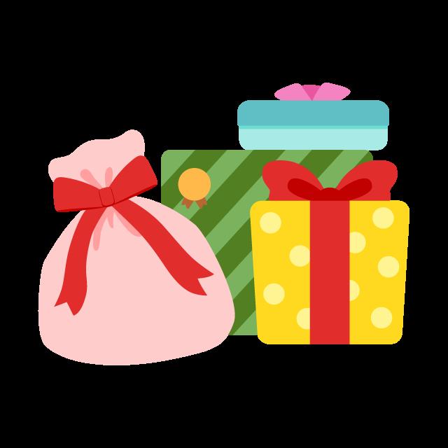 たくさんのプレゼントの無料ベクターイラスト素材 Picaboo ピカブー
