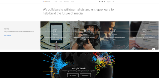 Hello, Medium. We're the Google News Lab. — Google News Lab