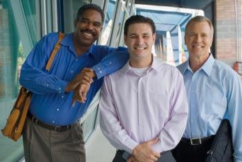 Photo of three men