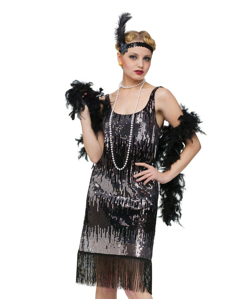jazz baby 1920's flapper the great gatsby womens fancy