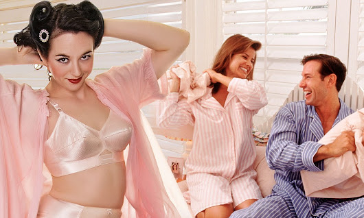 Don't bother splashing out on lacy lingerie, men find women in PYJAMAS sexiest (even more so than sleeping with NOTHING on)