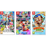 Nintendo: Super Smash Bro, Mario Kart 8 & Donkey Kong Games