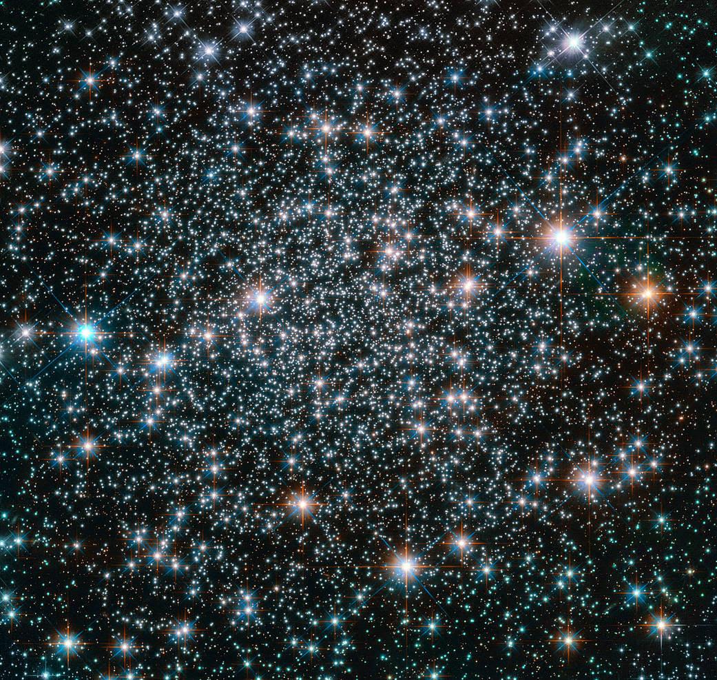 10.5 billion-year-old globular cluster