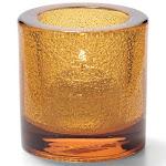"Hollowick 5140AJ Tealight Lamp for HD8 2 3/4 x 2 7/8"", Glass, Amber Jewel"