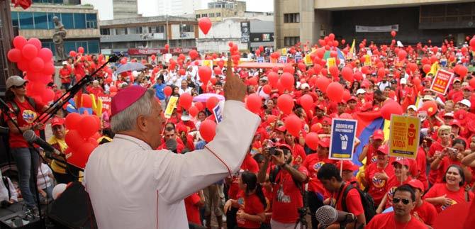 Caleños y caleñas marcharon en la ciudad para clamar por el derecho a la vida