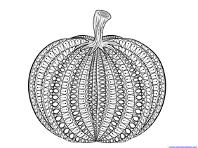 all new pumpkin coloring pages  1111