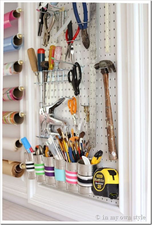 Craft room Organizing Ideas