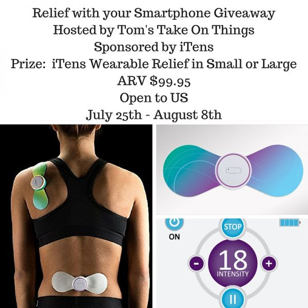 Pain Relief with your Smartphone Giveaway - Ends 8/8