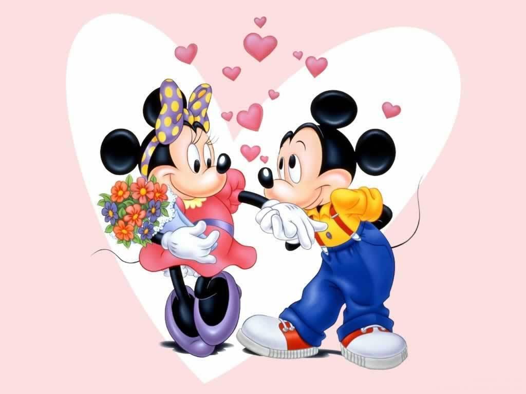 Mickey And Minnie 壁紙 ミッキー ミニー 壁紙 5446164 ファン