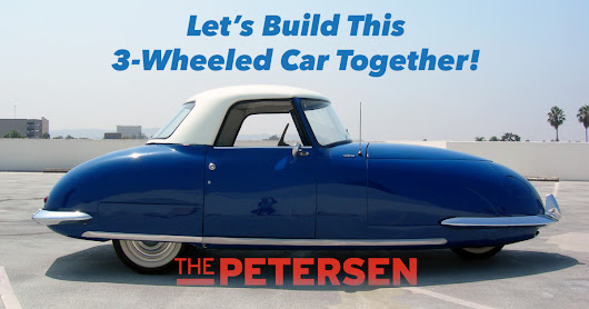 CLICK HERE to support Let's Build This 3-Wheeled Car Together!