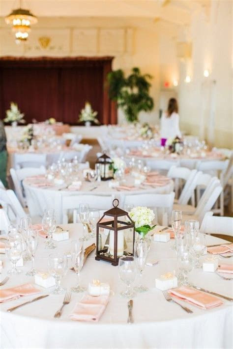 Calm and beachy wedding decor at a relaxed seaside wedding
