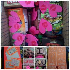 ... if you don't want him to be teased! Kisses and pink hearts are a no-go