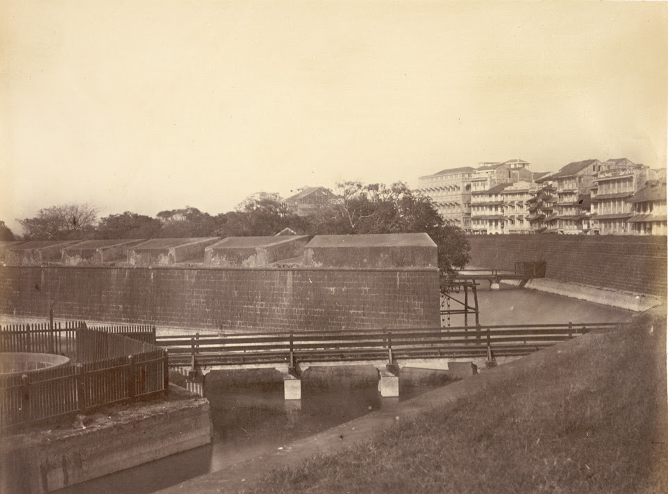 Part of the Fort, Bombay, 1863.