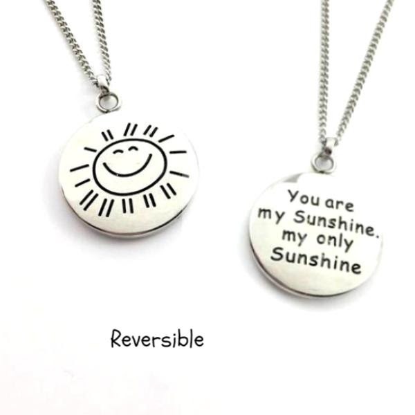 You Are My Sunshine My Only Sunshine Necklace Deservescom