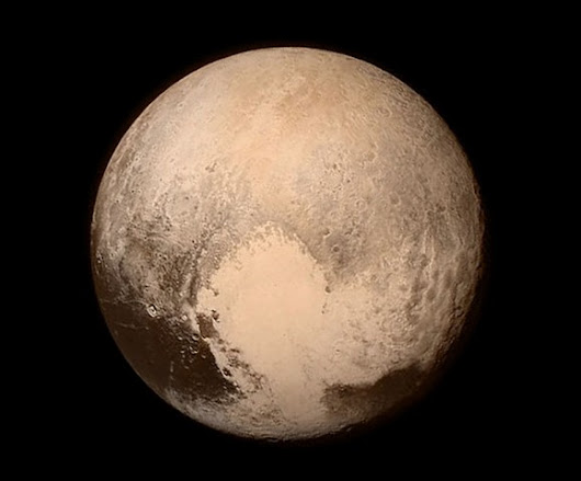 Pluto - Just Look at the Detail!
