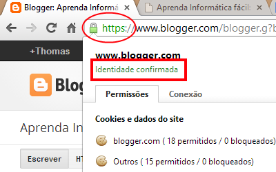 site autenticado