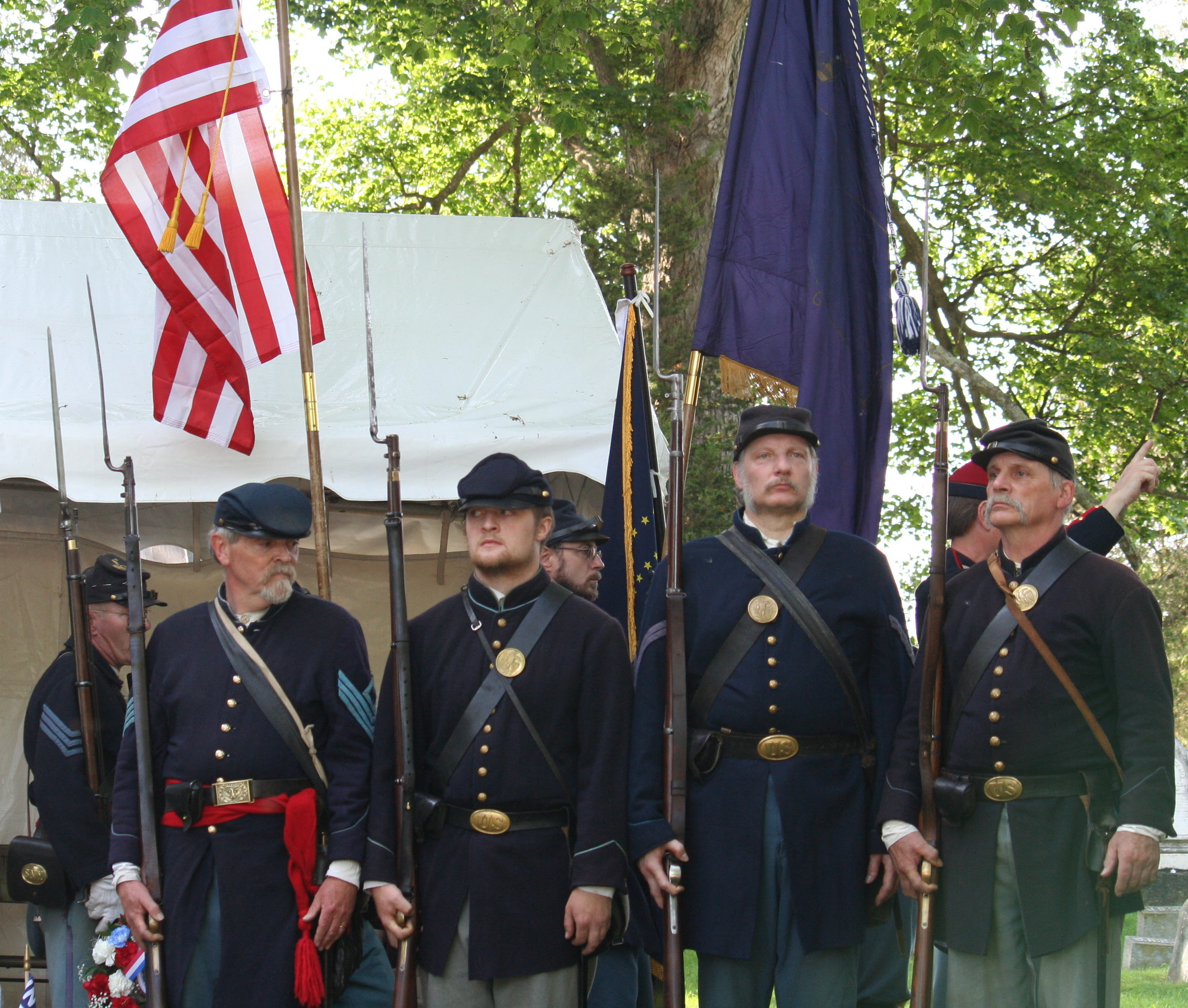 Civil War Encampment @ Old Stone Fort Museum | Schoharie | New York | United States