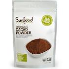 Sunfood Chocolate Cacao Powder - 8 oz bag