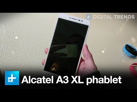 Alcatel launches 'affordable but uncompromising' A3 XL 6-inch phablet