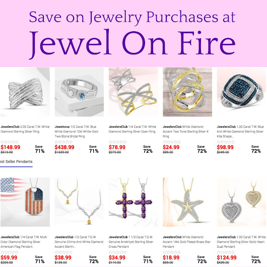 Save on Jewelry Online at Jewel On Fire!
