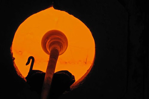 Glass In The Furnace