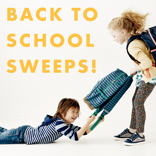 Back To School Sweeps!
