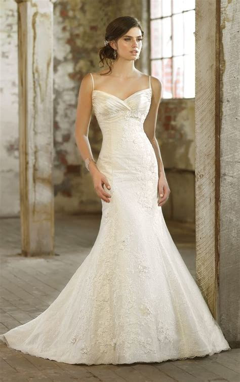 Essense of Australia Lace over Ivory Luxe Taffetta Gown