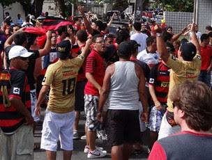 Torcida do Sport (Foto: Aldo Carneiro)
