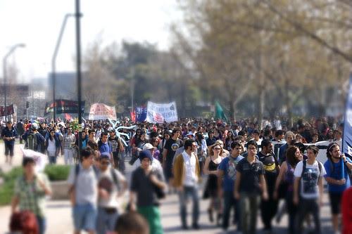 Tilt-shift, marcha 14 de septiembre 2011 by Manuel Venegas