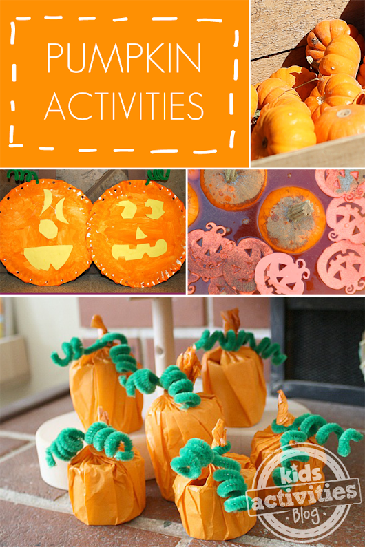 7 Easy Pumpkin Activities - Kids Activities Blog