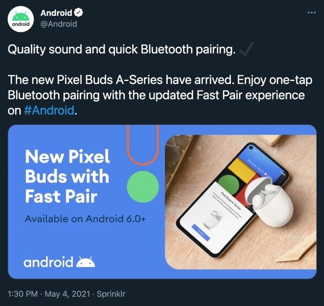 Verwijderde Google-tweet spreekt over Pixel Buds A-Series-oortjes